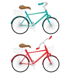 Cartoon bicycle vector