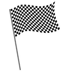 Finish flag vector