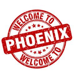 welcome to phoenix vector image