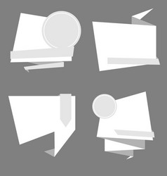 Banner design collection of templates for vector