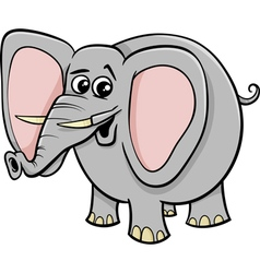 Elephant animal character cartoon vector