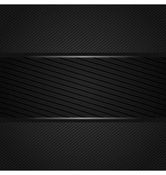 Abstract dark gray background vector