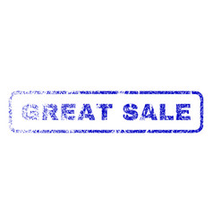 great sale rubber stamp vector image