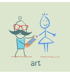 Art vector