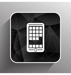 App phone icons the website isolated speech vector