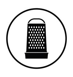 Kitchen grater icon vector