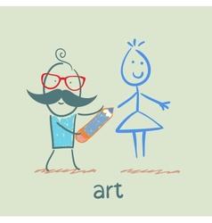 art vector image