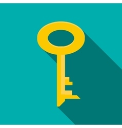 Key icon flat style vector image vector image