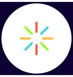 Loading computer symbol vector