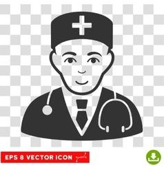 Physician eps icon vector