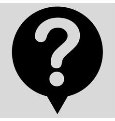 Status flat black color icon vector