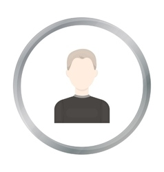 Boy icon cartoon Single avatarpeaople icon from vector image