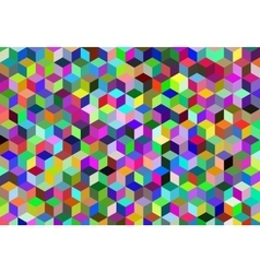Abstract cube backgrounds vector