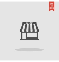 Store icon concept for design vector