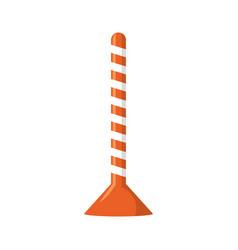 Trafic cone vector