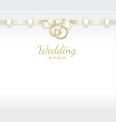 Wedding header vector