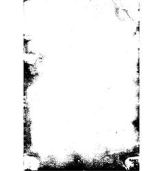 Grunge frame texture vector