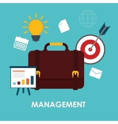 Business management graphic vector