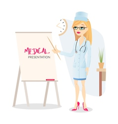 Medical presentation vector