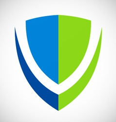 Shield protection logo vector