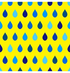 Blue tone rain yellow background vector
