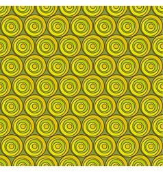 Circul shape 3d seamless pattern vector