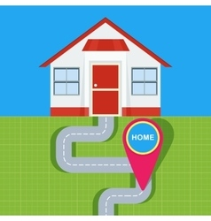 Home map pointer vector