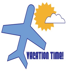 Vacation time vector