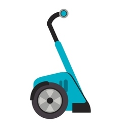 Segway transport icon vector