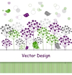 Natural abstract background vector