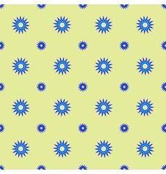 Stars geometric seamless pattern 4506 vector image vector image