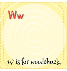 Woodchuck vector