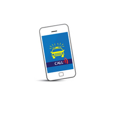 Phone call for police vector