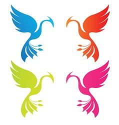 Phoenix color vector
