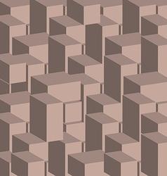 3d cray block texture vector image vector image