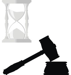 Symbols of law vector