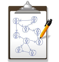 business diagram vector image vector image