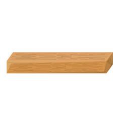 wooden beam vector image