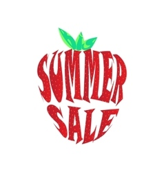 Big summer sale label vector