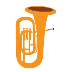 Isolated musical instrument vector