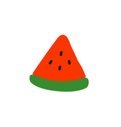 summer watermelon vector image