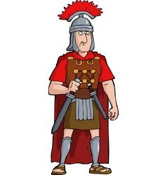 roman officer vector image