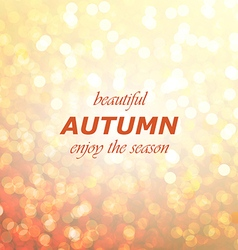 Autumn season abstract background vector