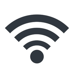 Wifi or wireless isolated icon design vector