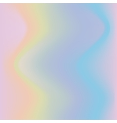 Hologramic trendy background vector image