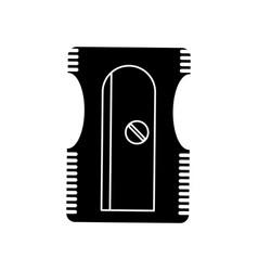 sharpener school utensil pictogram vector image