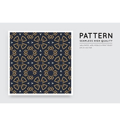 Seamless arabian style abstract pattern vector