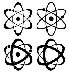 Atom symbol set vector