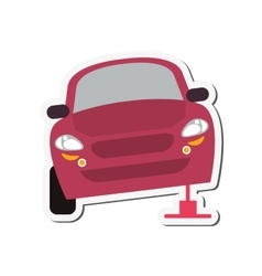 Car repair automobile design vector