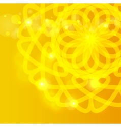 Sun ornament vector